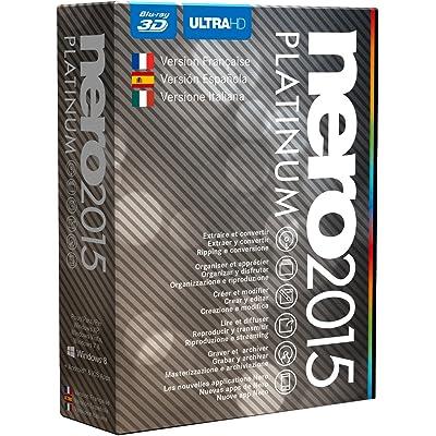 Nero 2015 Platinum - Software De Grabación