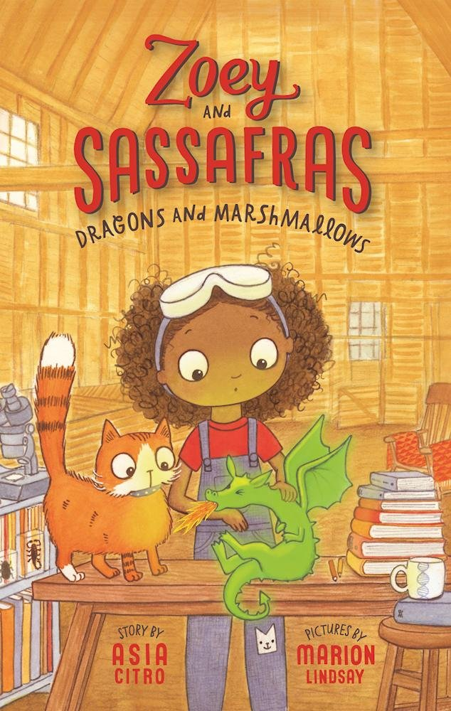 Dragons and Marshmallows (Zoey and Sassafras) by The Innovation Press (Image #1)