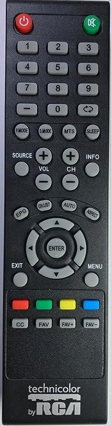 Technicolor - Mando a Distancia RCA para la Mayoría de televisores LCD Technicolor RCA LED: Amazon.es: Electrónica