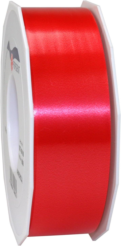 Präsent - Cinta para Regalos (40 mm, 91 m), Color Rojo: Amazon.es ...