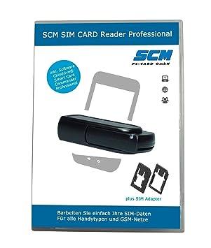 SCM lector de tarjeta SIM Professional - SIM Card stick ...