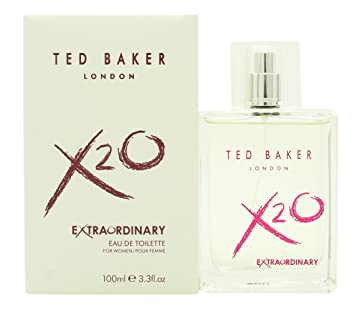 5457aa7cf Amazon.com   Ted Baker X20 Extraordinary for Women Eau de Toilette 3.4oz  (100ml) Spray   Beauty