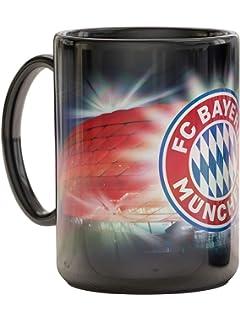 M/ünchen FC Bayern Tasse Plus Lesezeichen I Love Kaffeetasse Signatur 2018//19 Unterschriften FCB