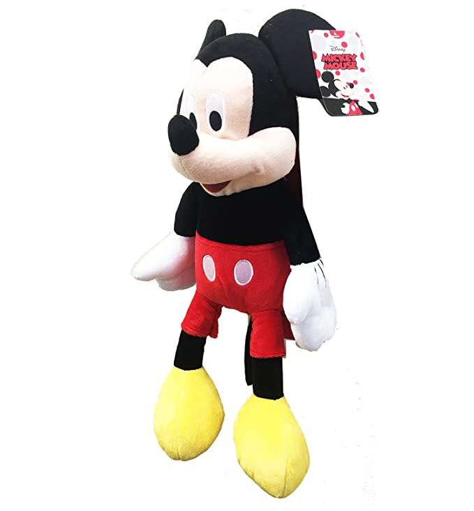 76fa195fc5f Amazon.com  MICKEY MOUSE PLUSH BACKPACK! FIGURE STUFFED TOY DISNEY 18