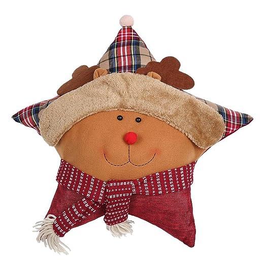 TOOGOO(R) Almohada para abrazar de Navidad Cojin de forma de ...
