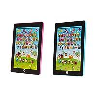 carsge Giocattolo Educativo Mini per Tablet Bambini Multifunzione Macchina da Lettura per Imparare Inglese PAD Simulato Colore Casuale (modello 1)