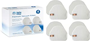 Fette Filter - Vacuum Filters Compatible with Shark Professional Upright Models NV450 Compare to Part # XFF450 •Contains 4 Foam Filters and 4 Felt Filters.