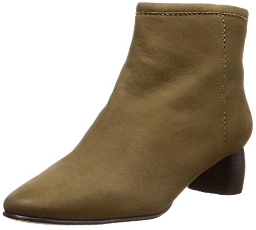 Grace Bella Khaki Nubuck Leather Boots