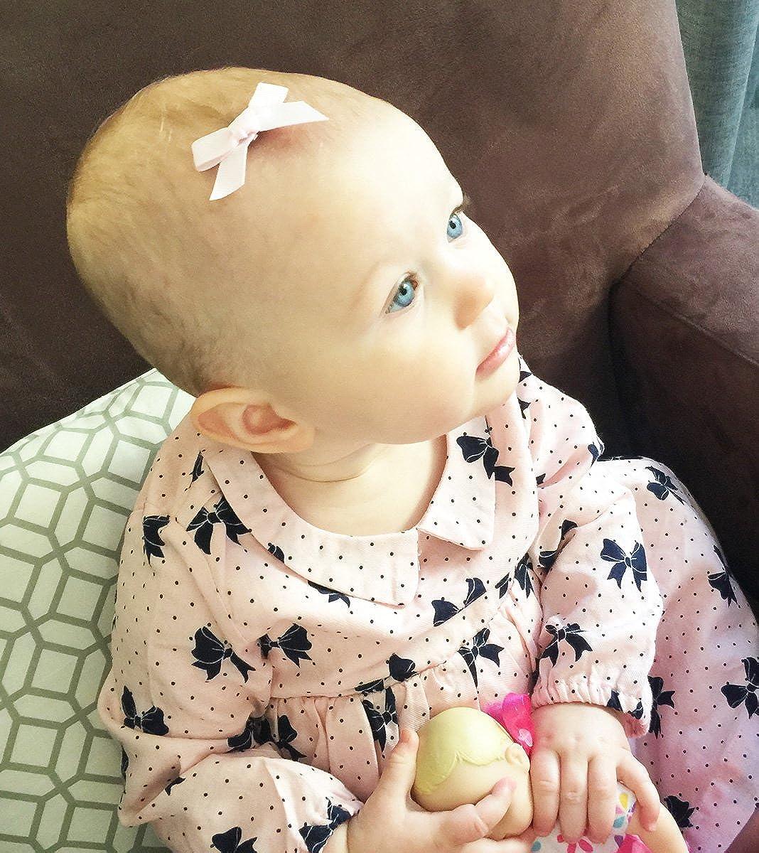 Amazon.com: Juego de 4 lazos para el pelo para bebé y niña ...