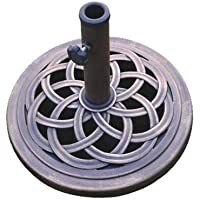Deals on DC America UBP18181-BR 18-Inch Cast Stone Umbrella Base