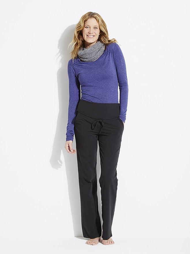 COLLINE Pantalon yoga grossesse et post-grossesse Noir 38 40  Amazon.fr   Vêtements et accessoires 081051a7900