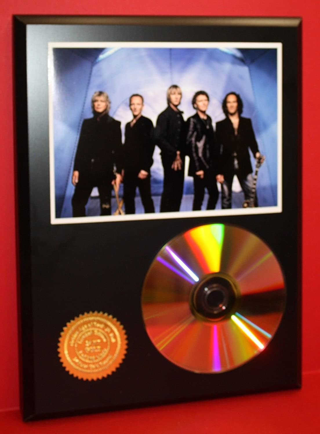 Def Leppard Limited 24KT Gold Cd Disc Collectible Award Quality Display