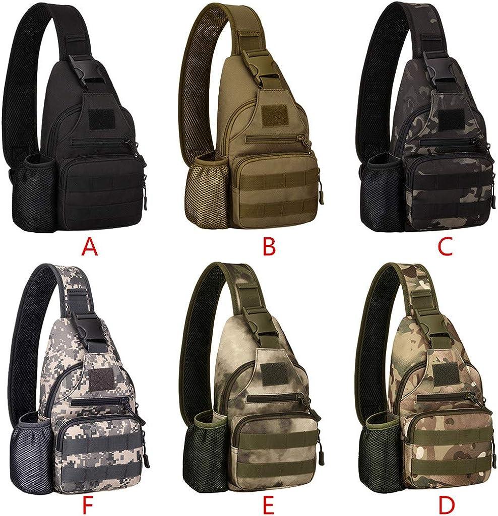 Kettle Set Chest Bag Riding Sports Outdoor Tactical Shoulder Bag USB Charging