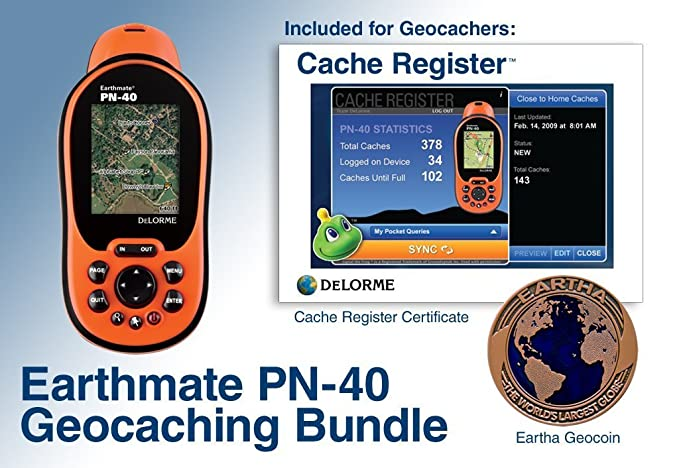 Amazon.com: DeLorme Earthmate PN-40 Waterproof Hiking GPS ...