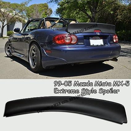 Amazon.com: Extreme Online Store EOS Body Kit Rear Wing Spoiler - for Mazda Miata NB 99-05 1999 2000 2001 2002 2003 2004 2005: Automotive