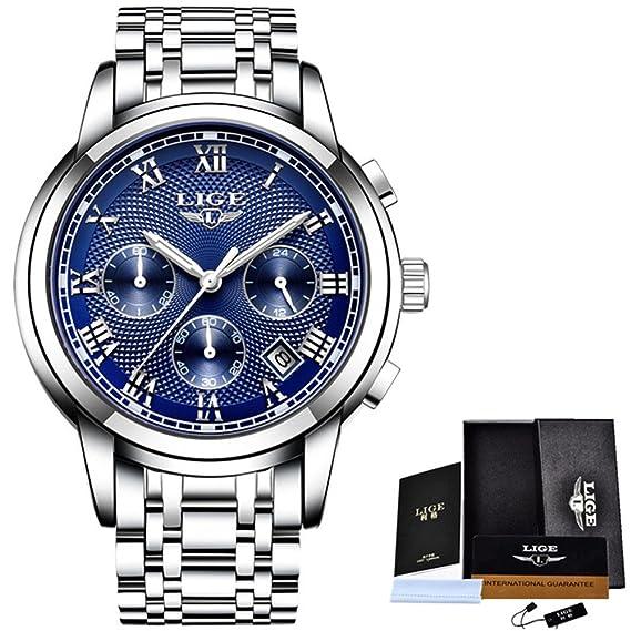 Watch Men Fashion Sport Quartz Clock Mens Watches Top Luxury Full Steel Waterproof Gold Wrist Watch
