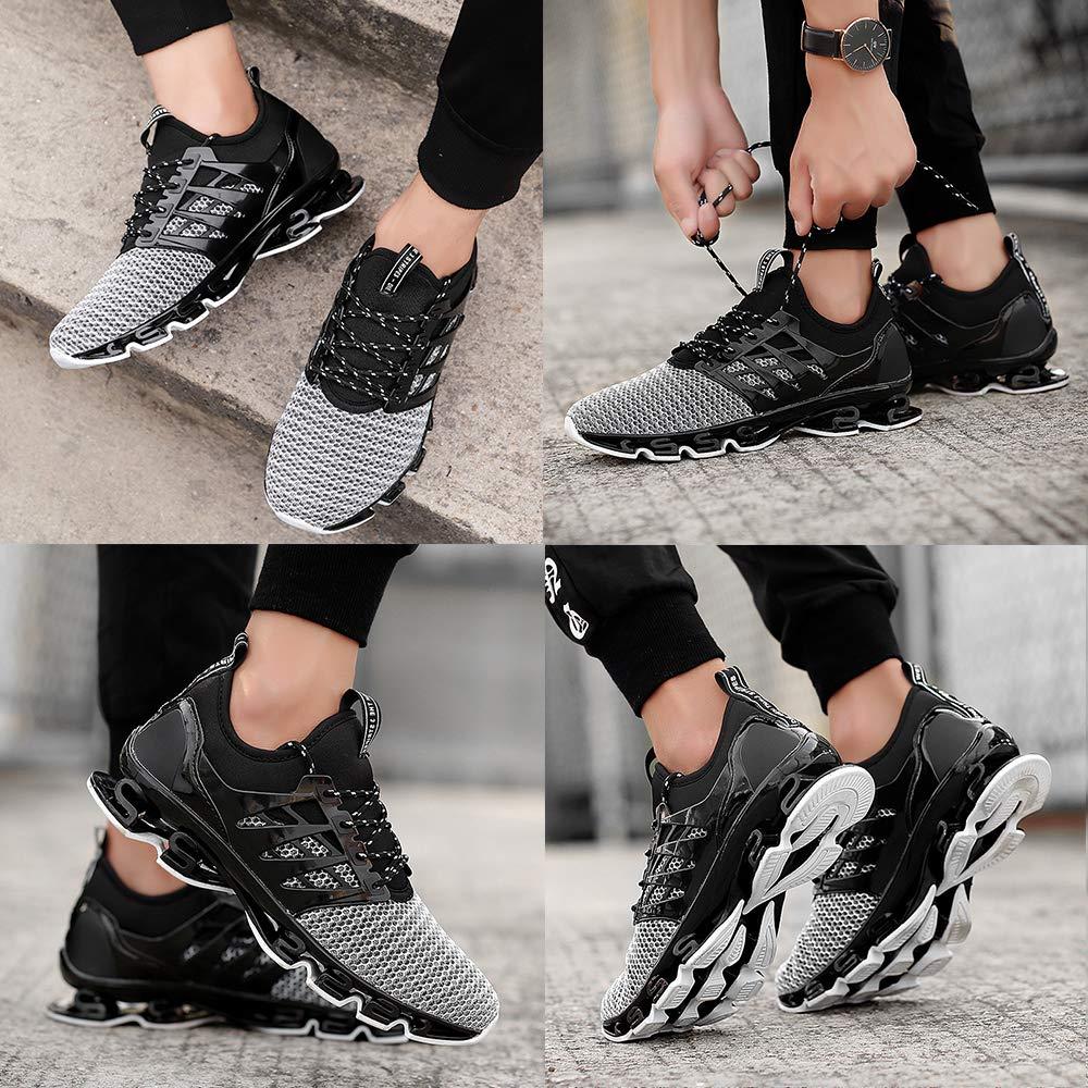 TSIODFO Men Sport Athletic Running Walking Shoes Runner Jogging Sneakers
