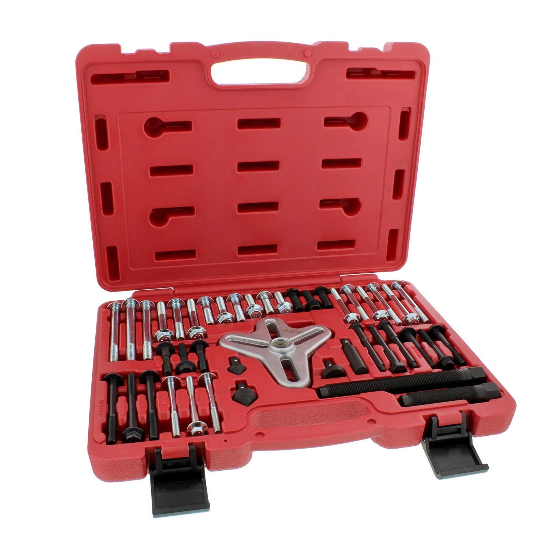 ABN Bolt Grip Set - Gear Puller, Steering Wheel Puller, Pulley Puller, Harmonic Balancer Puller, Crank Puller 43pc