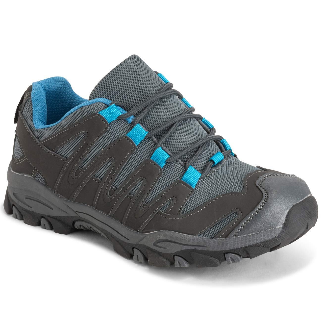 EU37//UK4 Gris//Bleu BS0218 Get Fit Femmes De Plein Air Poids L/éger en Marchant Randonn/ée Trekking Durable des Chaussures
