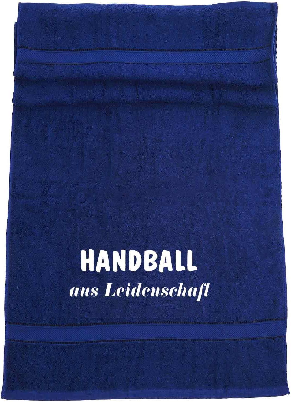 Handball aus Leidenschaft; Badetuch Sport
