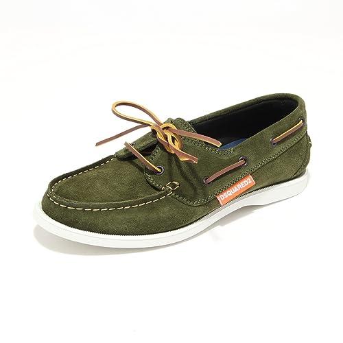 DSQUARED - Mocasines para hombre Verde verde 40: Amazon.es: Zapatos y complementos