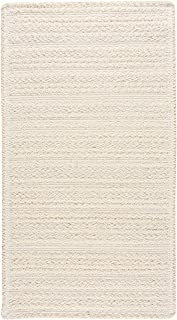 "product image for Harborview Lt. Beige 0' 36"" x 0' 36"" Cross Sewn Rectangle Braided Rug"