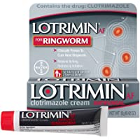 LotriminAF Ringworm Cream, Clotrimazole 1 Percent, Clinically Proven Effective Antifungal Treatment of Most Ringworm…