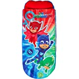Readybed P J Masks Junior Inflatable Kids Air Bed and Sleeping Bag in One