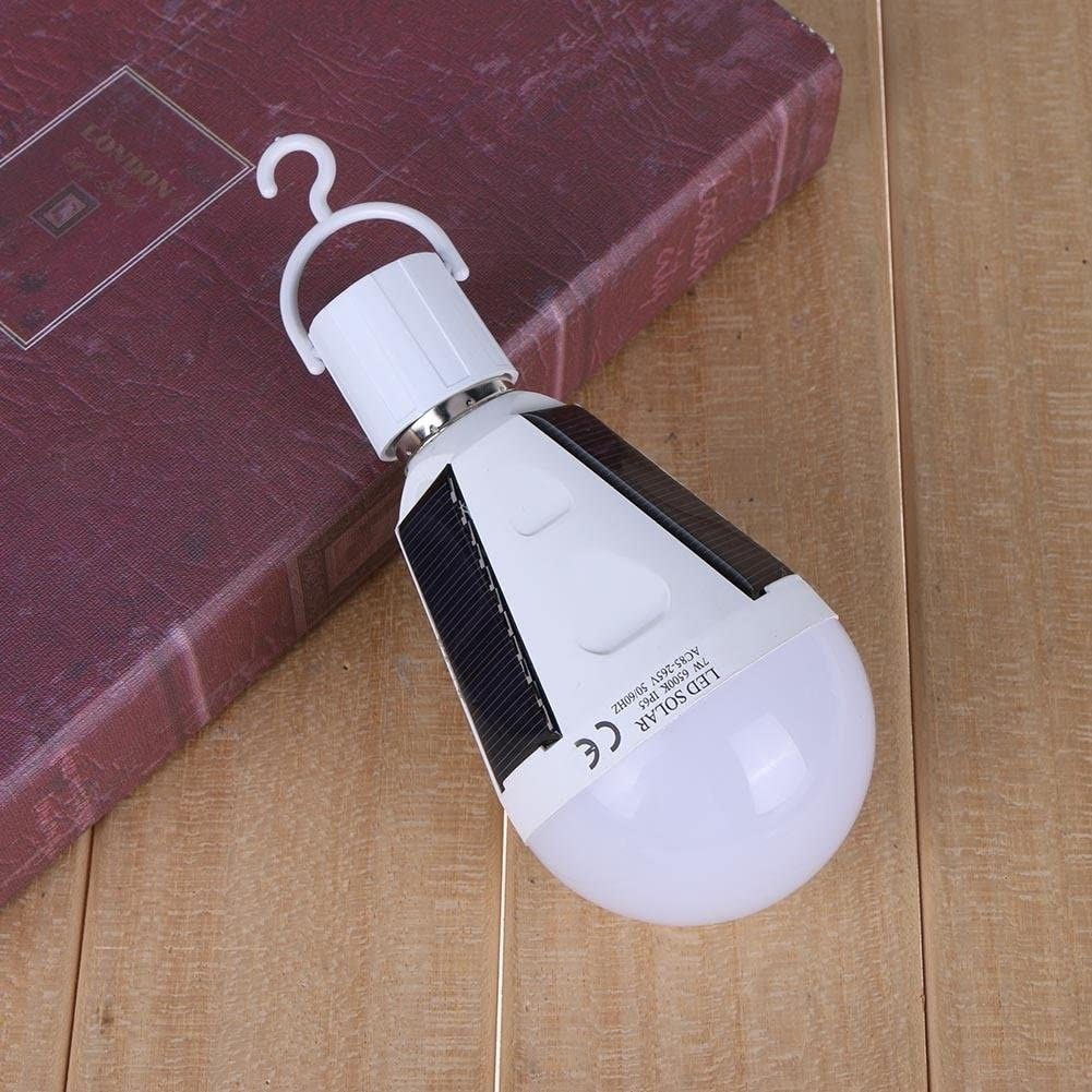 12W Starnearby Multifunctional Rechargeable Solar Emergency Lamp LED Bulb Light