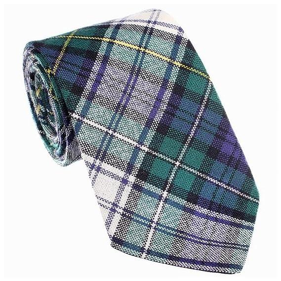 Ingles 100% Lana de Cuadros Corbata Campbell Moderno Vestido ...