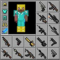 Mods : Modern Guns Mod for Minecraft PE