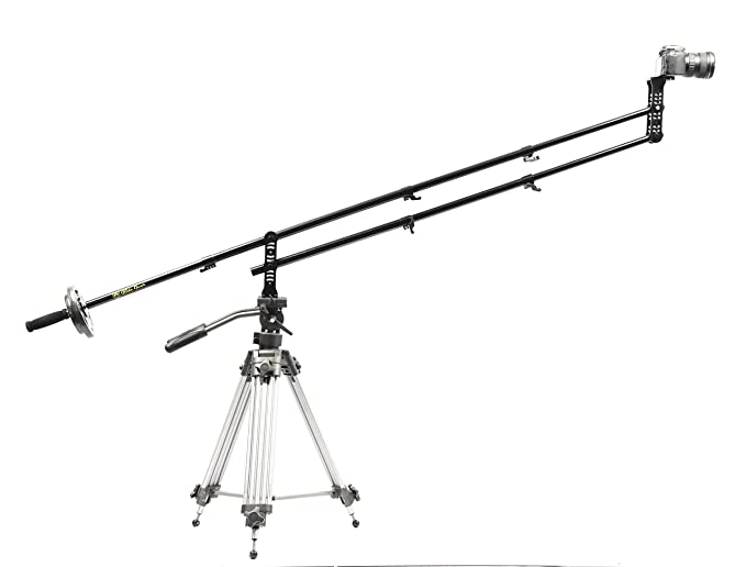 Review Glide Gear JB4 Portable 4 Ft Jib Crane w/ Carry Case 0-6 lbs Cameras