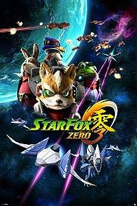 Pyramid America Star Fox Zero Space Battle Fox McCloud Arwing Nintendo 64 Gamecube Wii U Characters Cool Wall Decor Art Print Poster 24x36