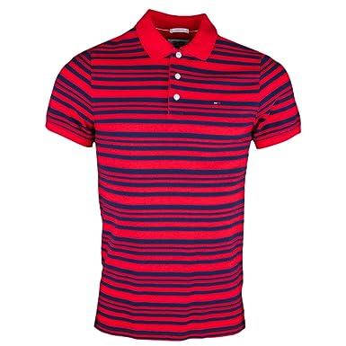 Tommy Jeans - Polo - Blusa - para Hombre Rojo XXL: Amazon.es: Ropa ...