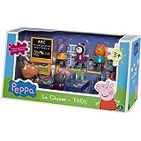 Giochi Preziosi 4962 Peppa Pig Gioco La Classe di Peppa, Set con 7 Personaggi