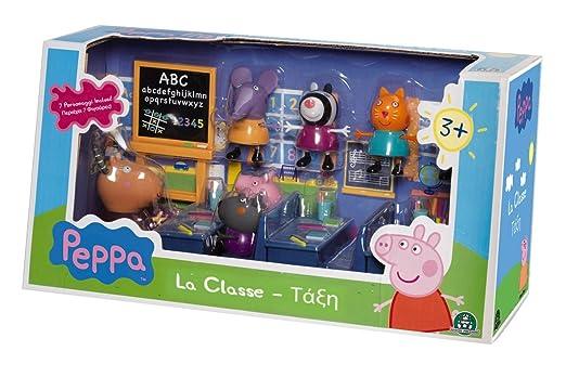 216 opinioni per Giochi Preziosi 4962 Peppa Pig Gioco La Classe di Peppa, Set con 7 Personaggi