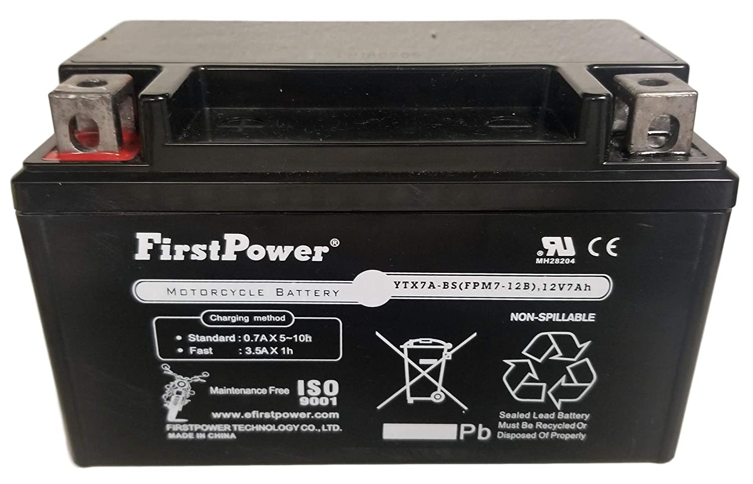 Amazon.com: FirstPower FPM7-12B / YTX7A-BS Replacement for ...