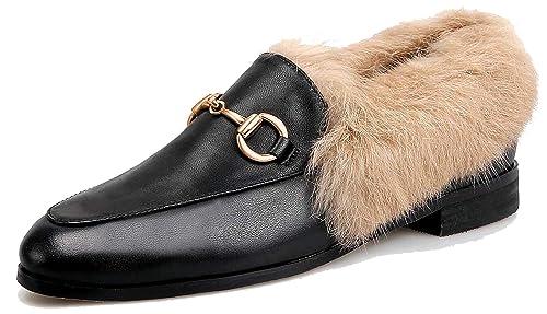 SimpleC Horsebit Plano Ponerse Mocasines Mules para Mujeres Loafer(c) 40.5: Amazon.es: Zapatos y complementos