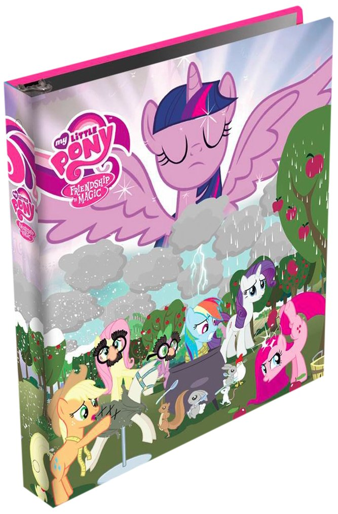 My Little Pony Friendship Is Magic Binder Album for Series 2 Trading Cards