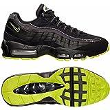 super popular 41e7e bc425 Nike Mens Air Max 95 Sneakers New, Black Volt City Lights 538416-070