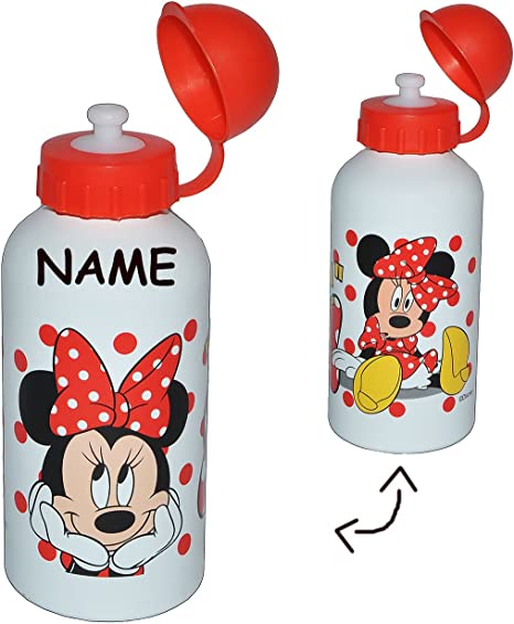 f/ür Kinder Aluflasche // Fahrradflasche Name Flasche M/ädchen Prinzessin R.. alles-meine.de GmbH Trinkflasche Disney Princess incl auslaufsicher Edelstahl // Aluminium 600 ml