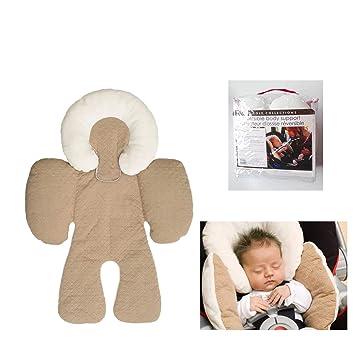 Amazon.com: Cojín para asiento de coche de bebé, asiento de ...
