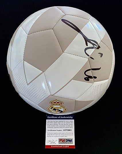 f21229c7c6c Eden Hazard Signed Real Madrid Soccer Ball Proof + Coa Ae73001 - PSA/DNA  Certified