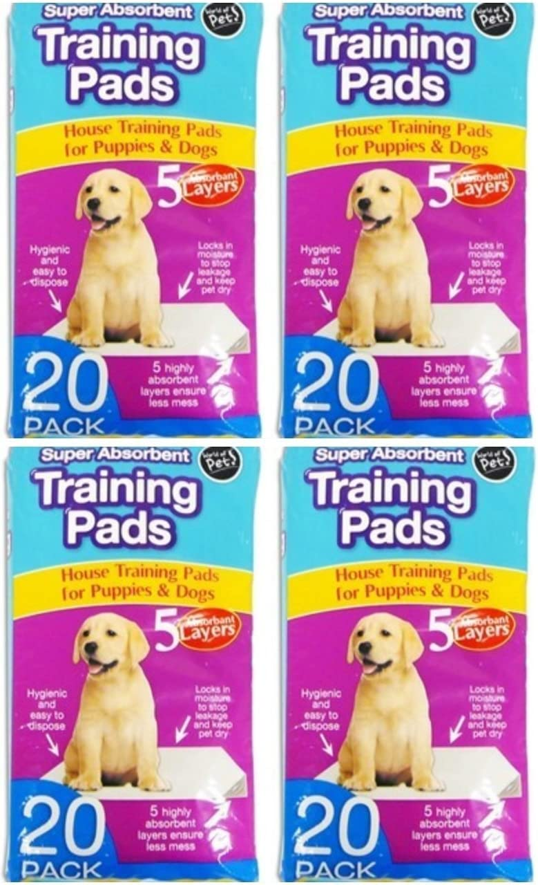 4 x Pet training pads