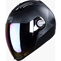 Steelbird Air SBA-2 Dashing Black with Rainbow Visor,580 mm