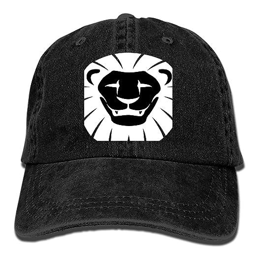933e21155f249 Amazon.com  Custom Black Tiger Classic Cotton Adjustable Baseball ...