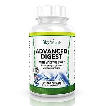Amazon.com: Enzimas digestivas avanzadas – suplemento de ...