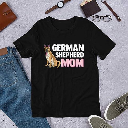 German Shepherd Mom T-Shirt - Funny GSD