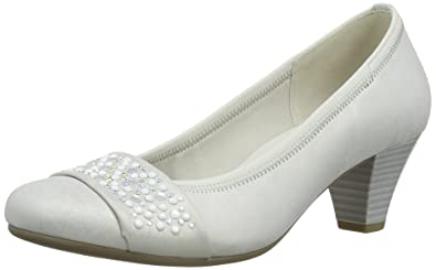 6684e6277932 Gabor Wallace L Damen Pumps, Silber (Silver Shimmery Leather), 40 ...