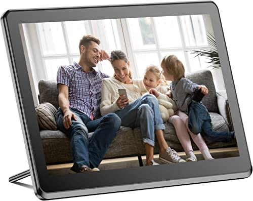 Digital Picture Frame WiFi 8 Inch Digital Photo Frame Full HD 1920×1080 IPS Touch Screen Display